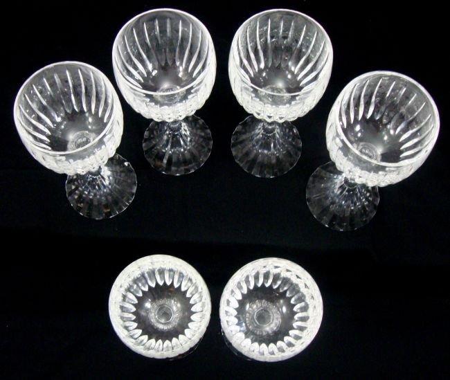 ATLANTIS Crystal Wine Glasses 6 - 2