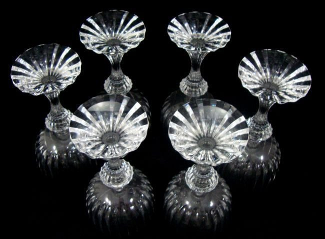 ATLANTIS Crystal Wine Glasses 6 - 3