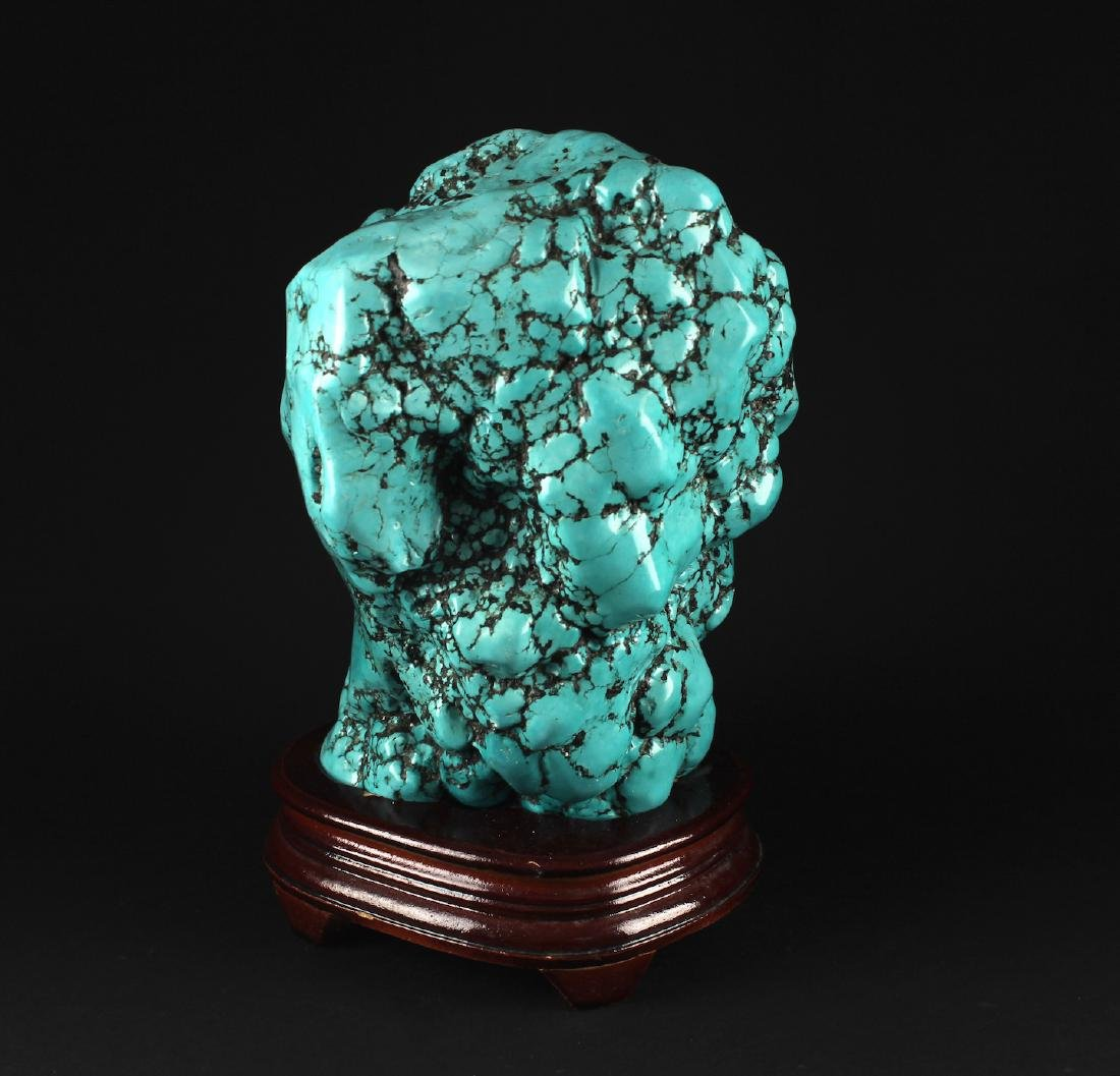 Natural Turquoise Decorative Article