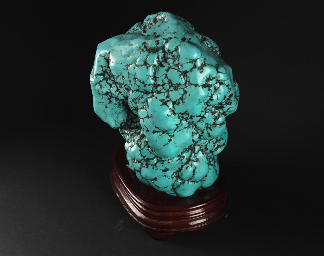 Natural Turquoise Decorative Article - 4