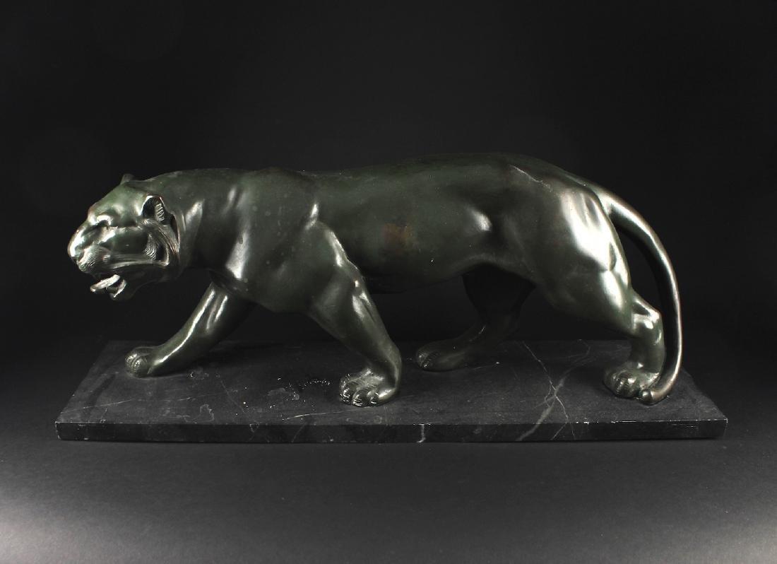 Bronze American Lion Decorative Item