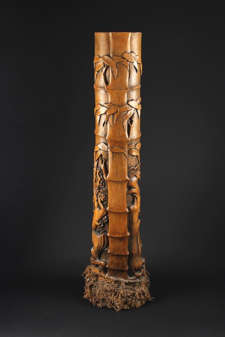 Bamboo Root Carving Decorative Item Republican Period