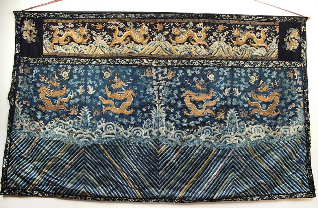 Palace Embroidery Qing Dynasty Period