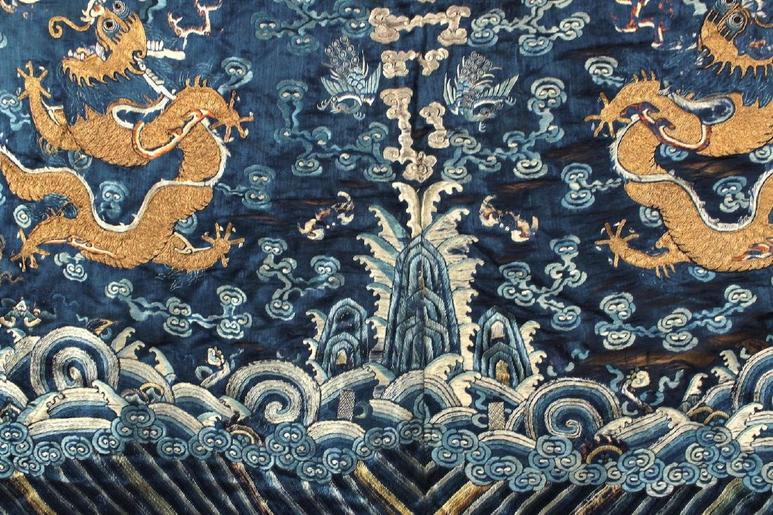 Palace Embroidery Qing Dynasty Period - 8