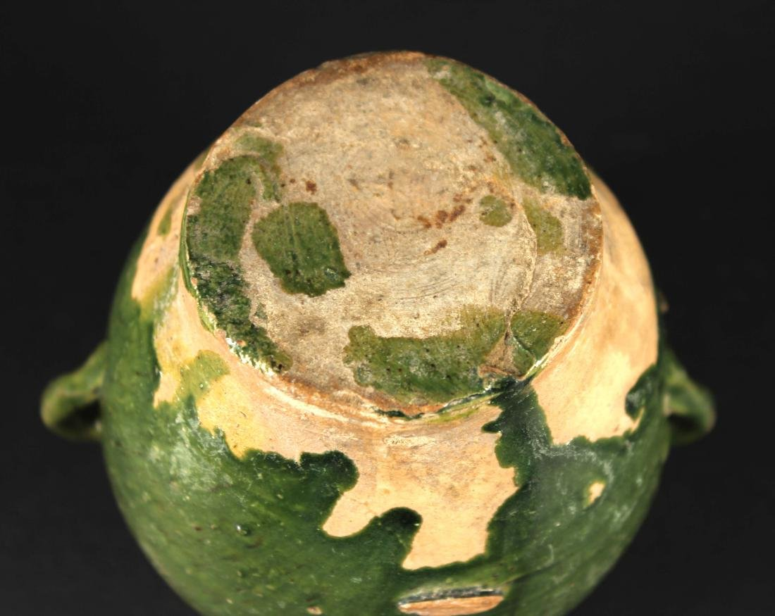 Green Glaze Small Jar Tang Dynasty Period - 4