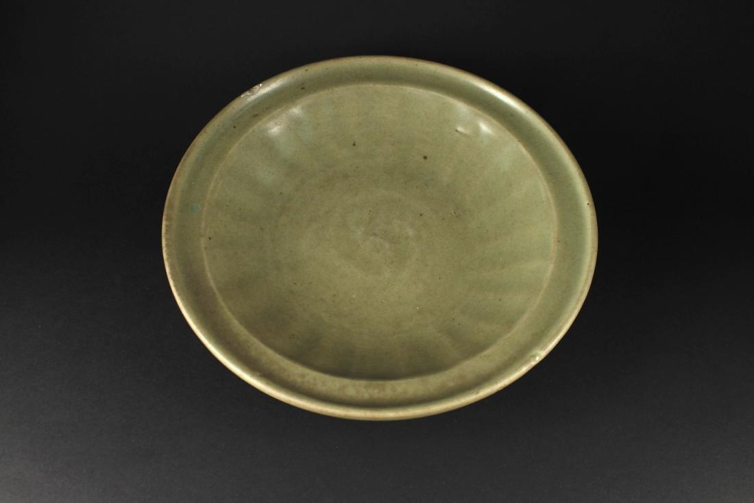 Longquan Kiln Celadon Dish Ming Dynasty Period