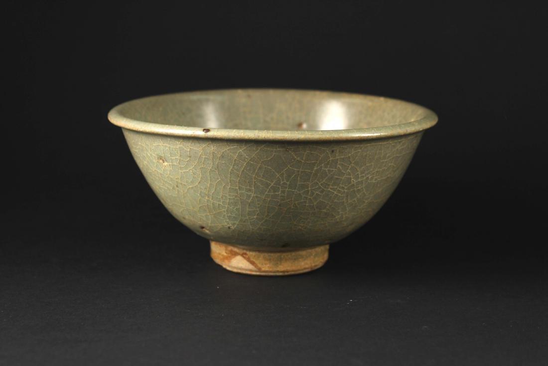 Longquan Kiln Celadon Bowl Yuan Dynasty Period