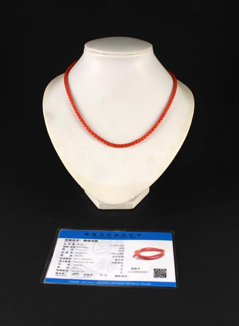 Coral Necklace - 3