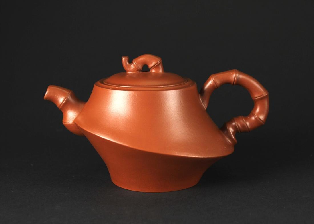 Zi-sha Tea Pot Shauchunlai Mark