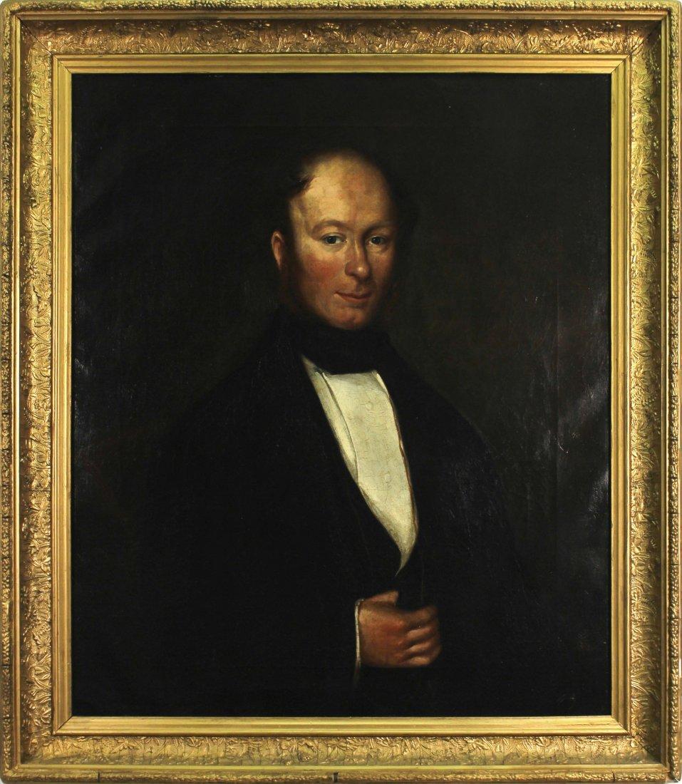 John Lee Douglas Mathies ,Gentleman, Oil on Canvas