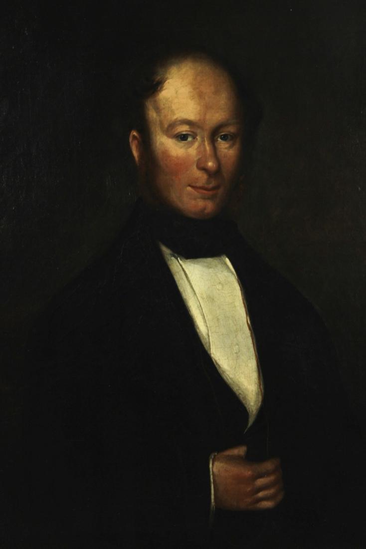 John Lee Douglas Mathies ,Gentleman, Oil on Canvas - 4