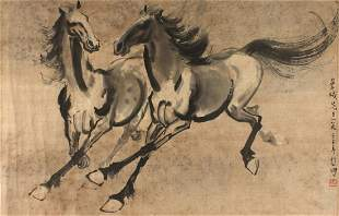 Xu Beihong, Chinese Painting