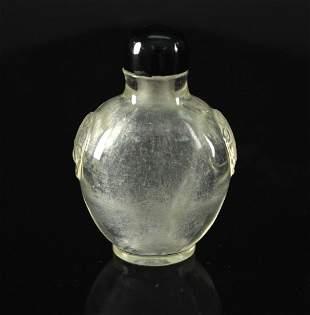 Crystal Snuff Bottle Qing Dynasty