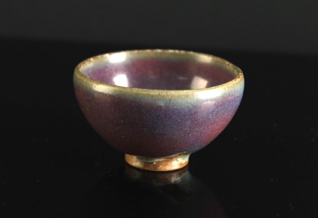 Jun Kiln Small Cup Song or Yuan Dynasty Period - 4