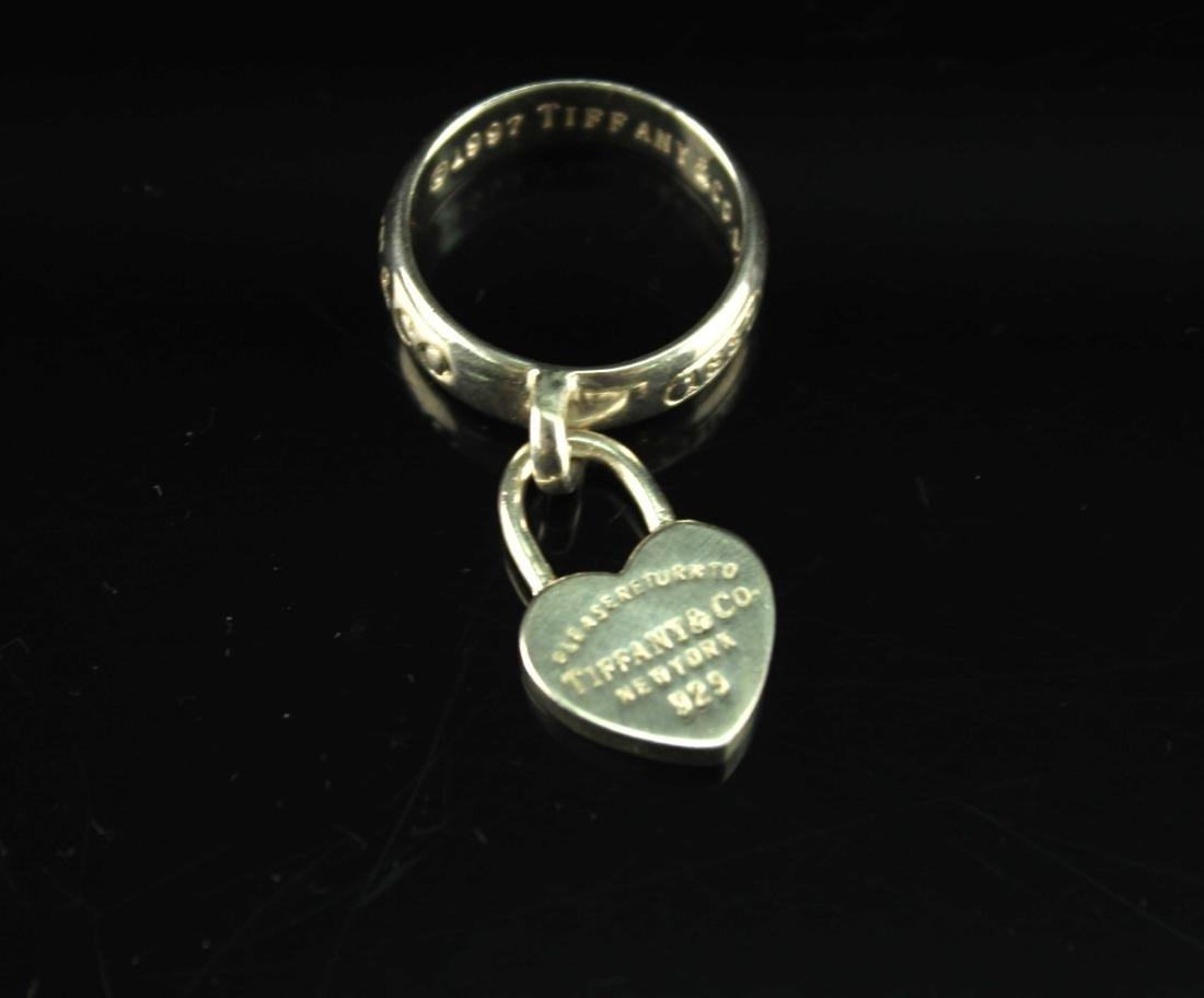 925 Silver Ring TIFFANY&Co Mark