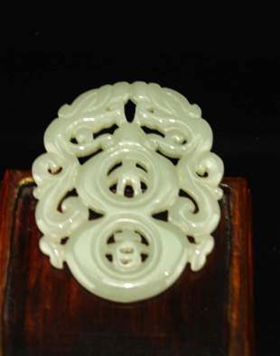 Jade Carved with Pendant
