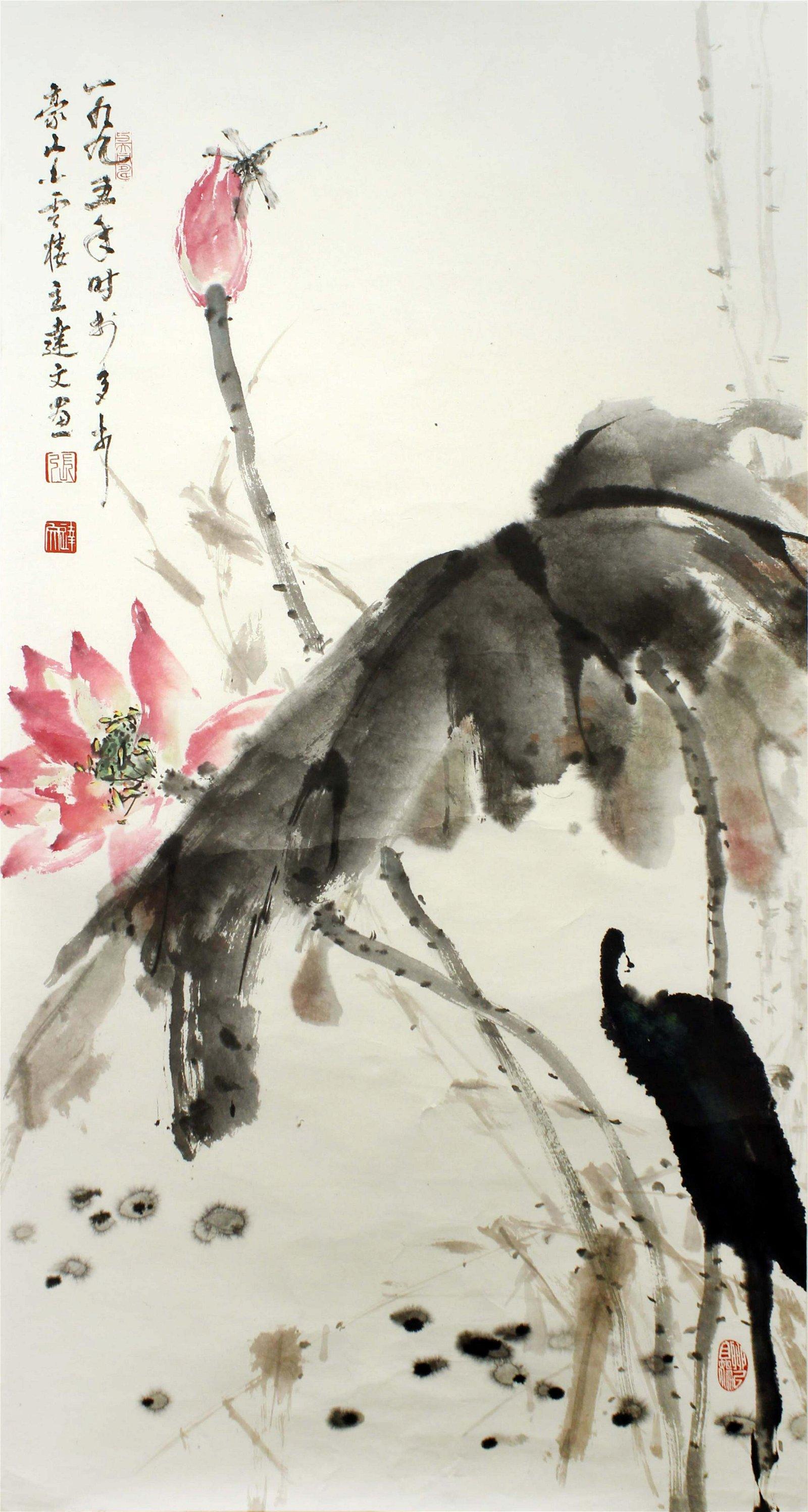 zhangdawen Chinese Painting