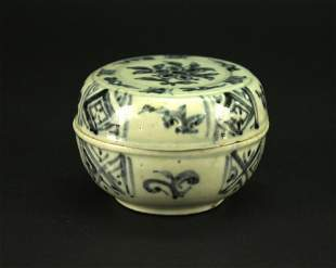 Blue and White Bowl Ming Dyansty Period