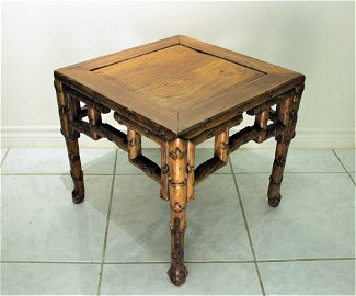 Huanghuli Square Table Qing Dynasty Period