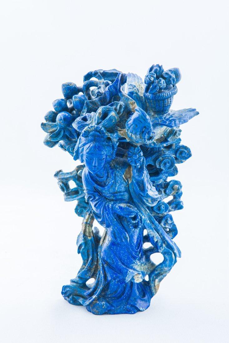 lapis lazuli Immortality of Taoism Sculptural