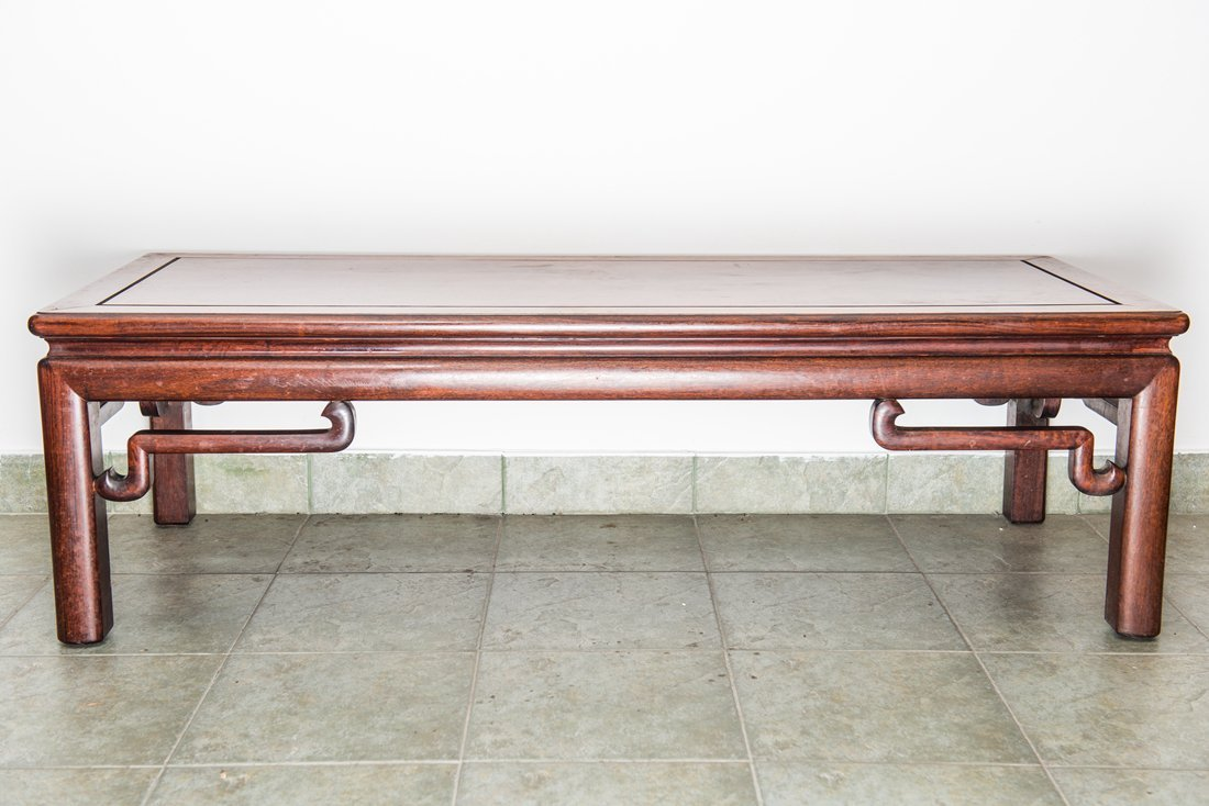 Rosewood Oblong Tea Table