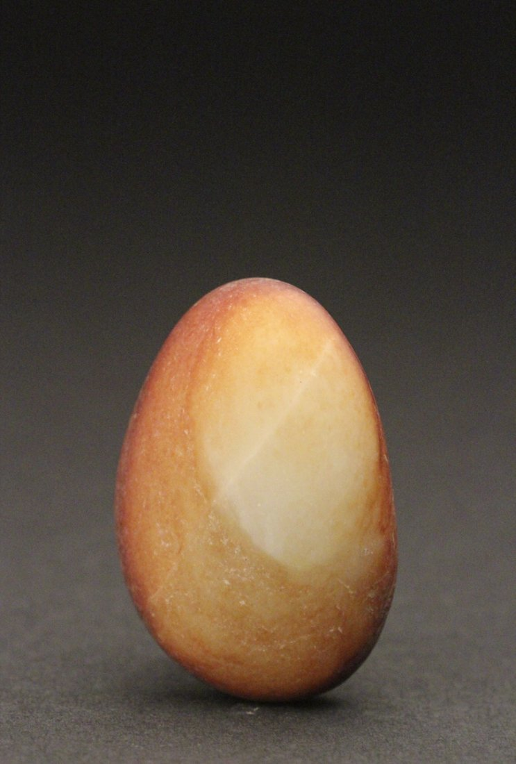 He Tian White Jade Pebble