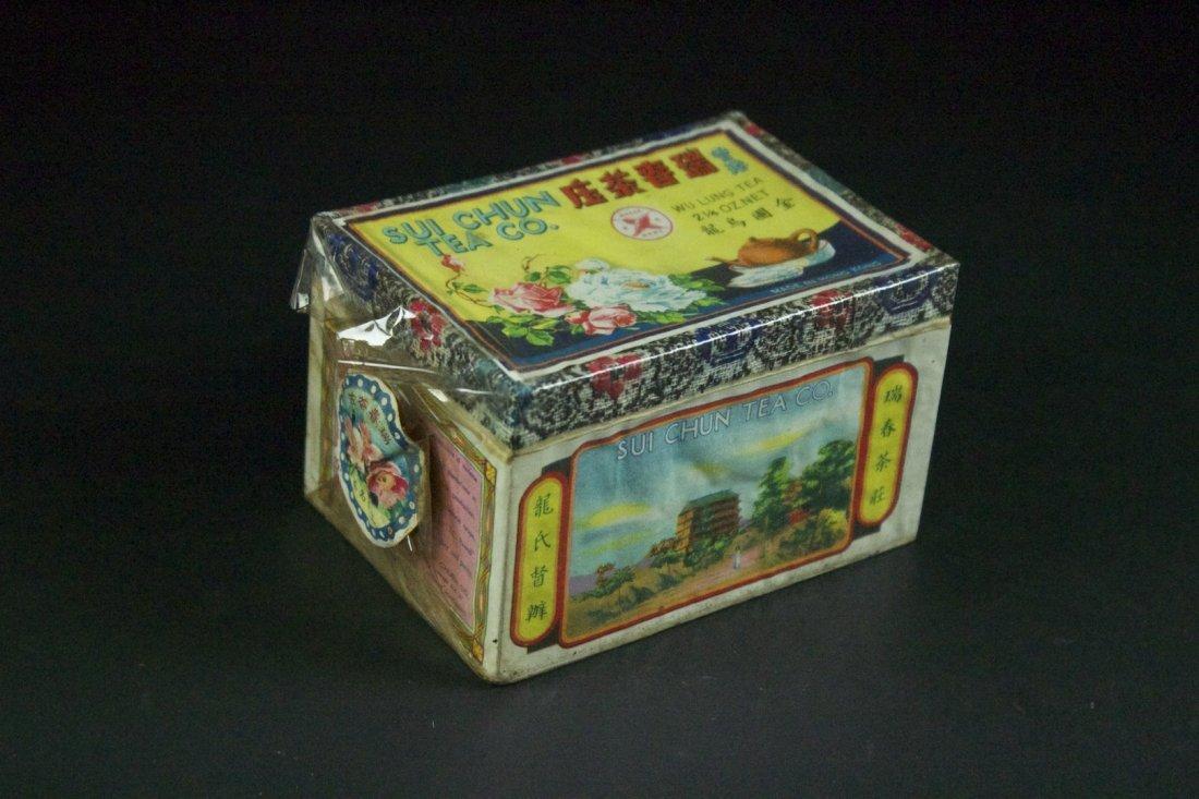 Wu Lung Tea Made in Hong kong Sui Chun Tea Co. 1950s