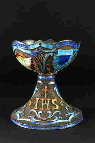 Enameling Bronze Cup