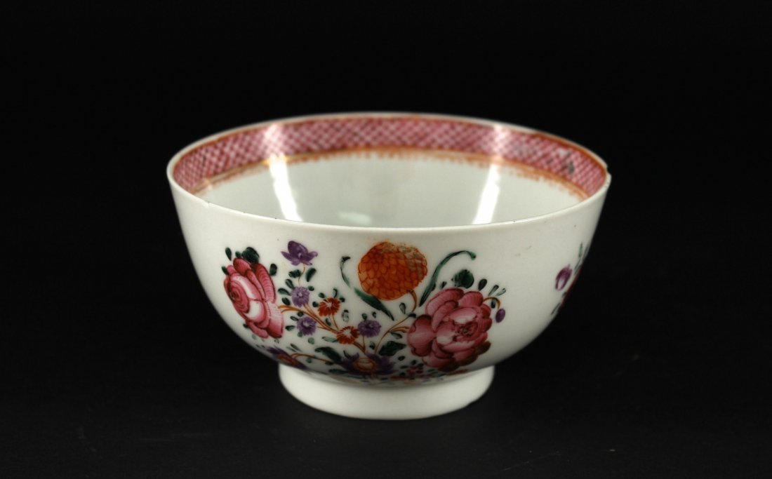 Enamel Colour Exported Bowl Qianlong Period