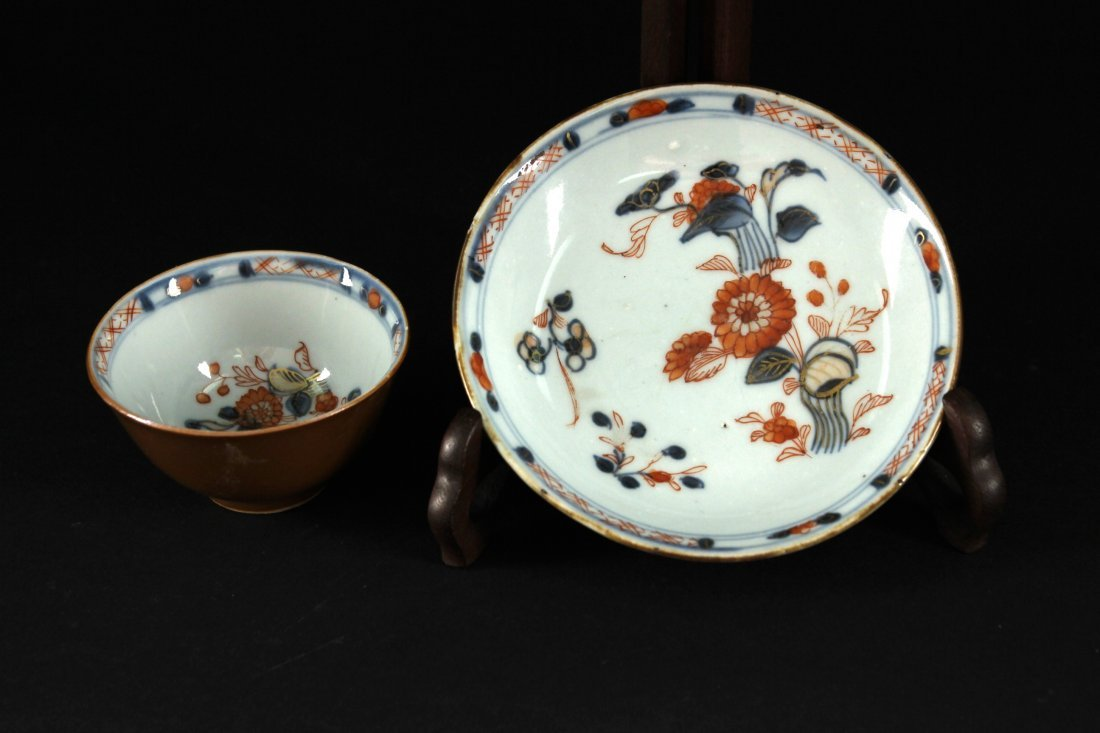 Blue & White Sauce Glaze Dish and Bowl Kangxi Period