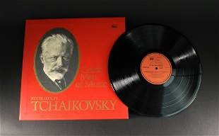 Mozart and Tchaikovsky Gramophone Record