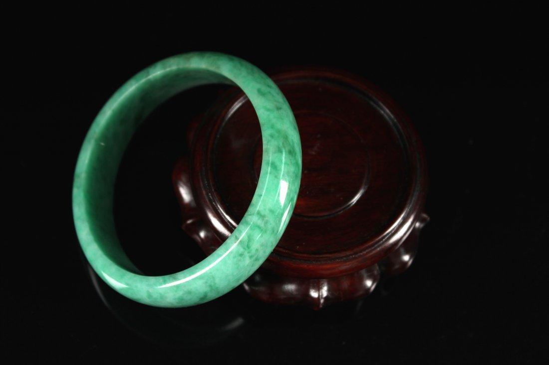 Fine Jadeite Bracelet - 3