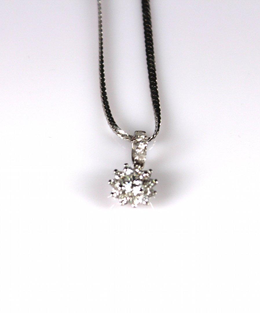 Diamond Platinum Necklace - 3