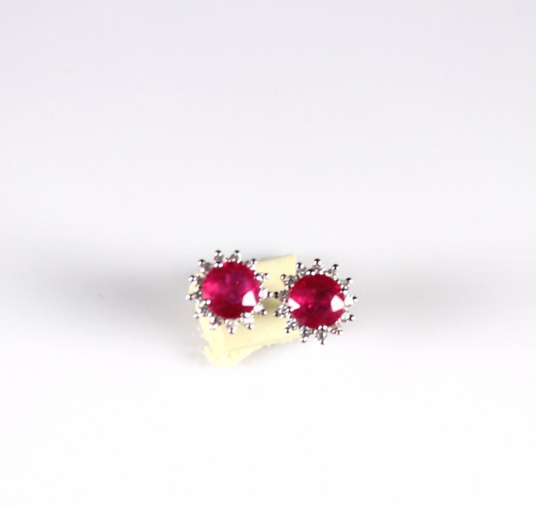 Pair of Ruby Earring