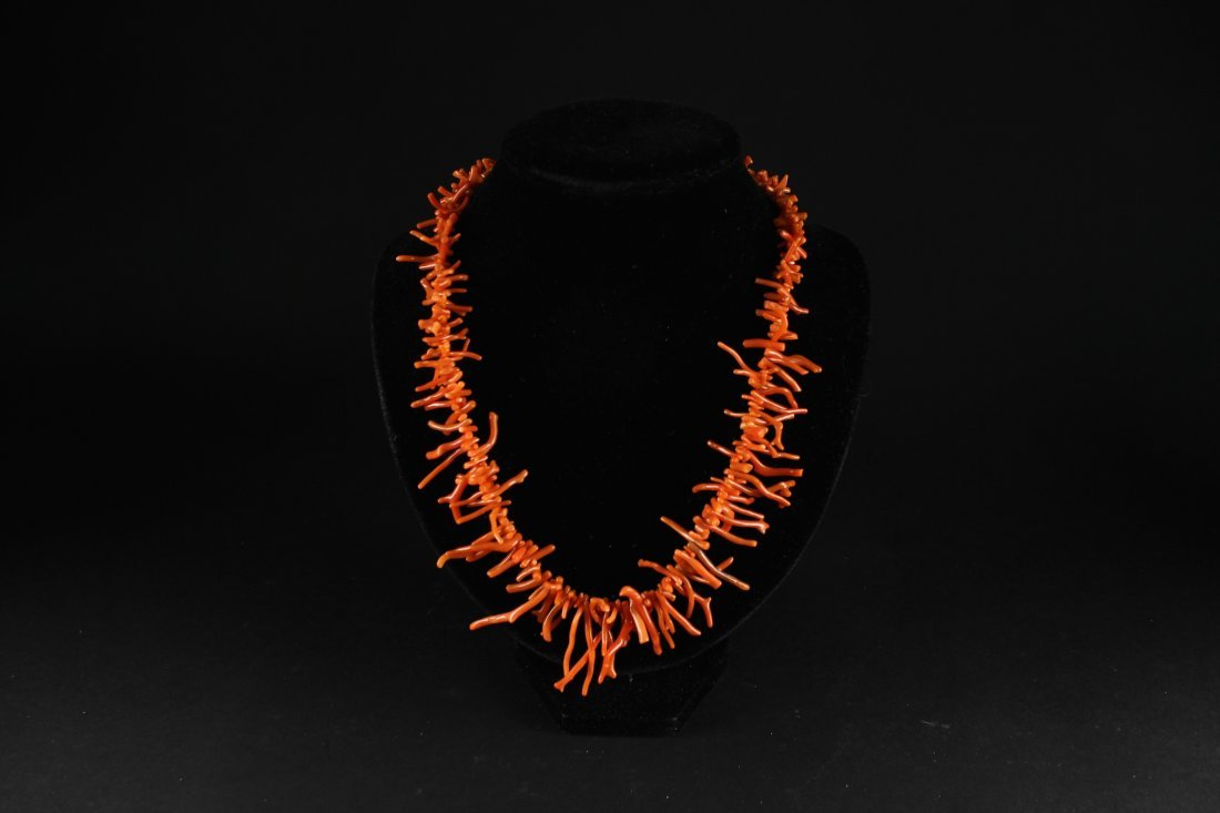 Coral Branch Necklace