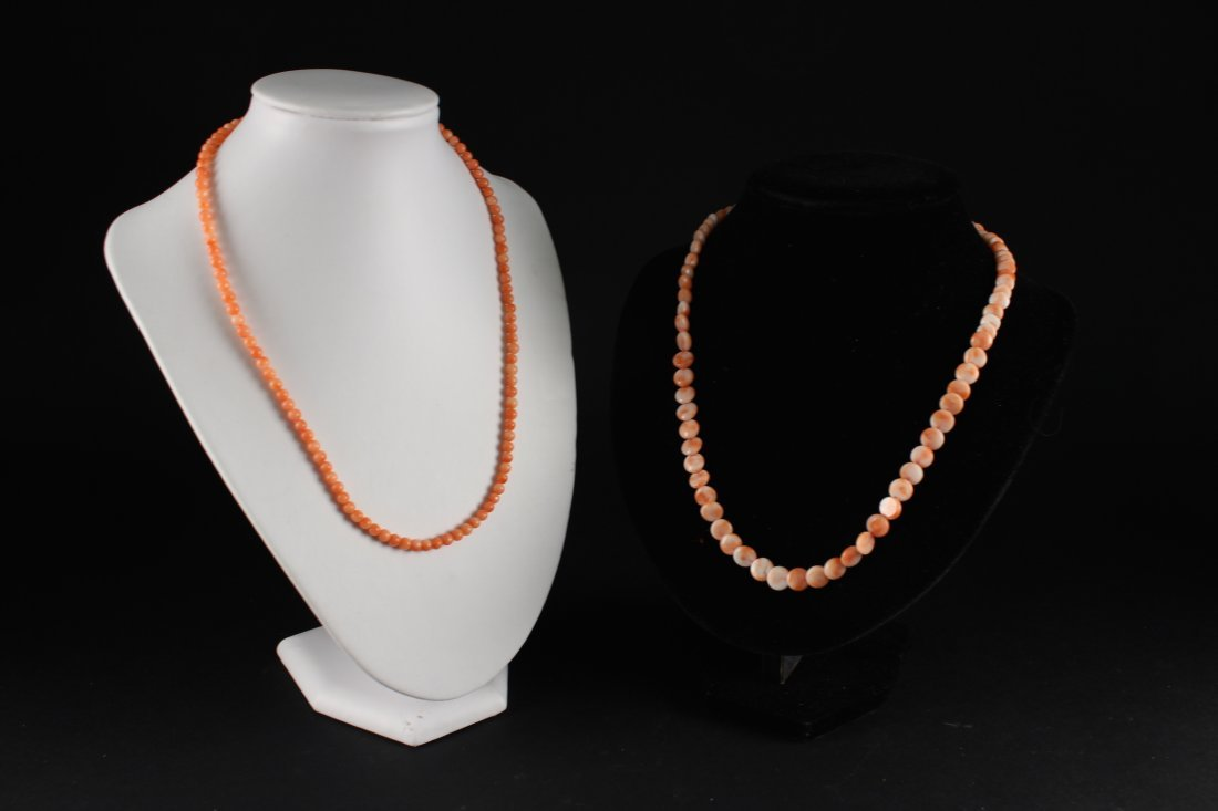 Two Pieces of Coral Necklace