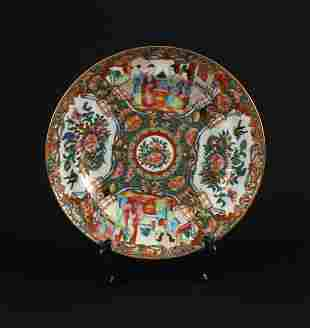 Guang Color Plate the Late of Qing Dynasty Period