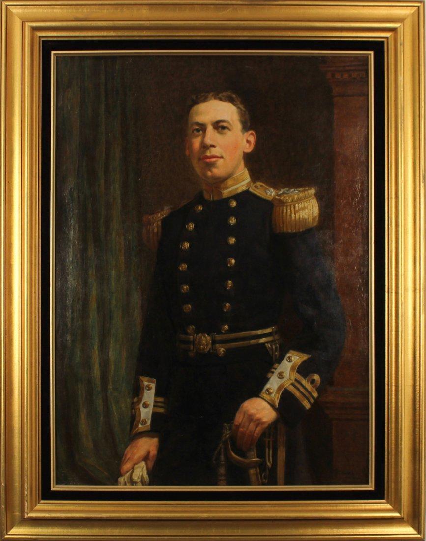 JOHN BERNARD MUNNS Oil on Canvas