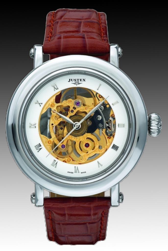 Justex Espera Skeleton Automatic Watch - Gent's