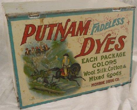 1: Putnam dye dispenser - display