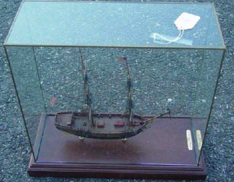 6: Paul Hitchcock cased ship model
