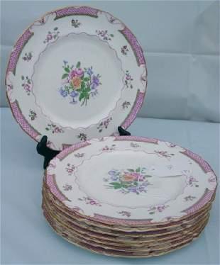Royal Doulton Lowestoft plates