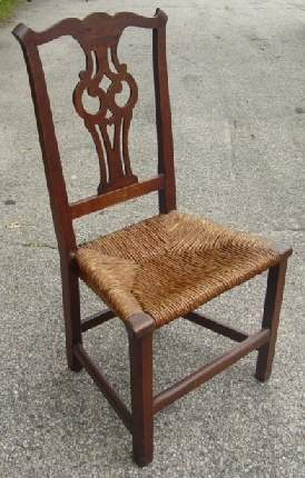 period Chippendale chair