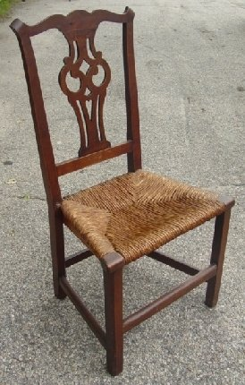 17: period Chippendale chair