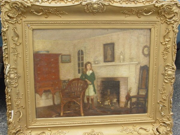 102: important oil on canvas by Sutton