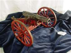 205 scale model civil war field cannon