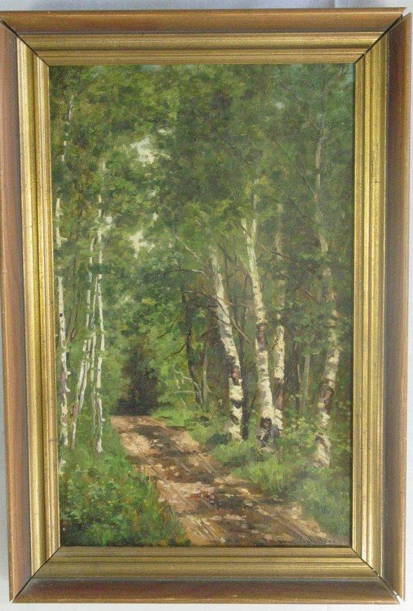6: FH Shapleigh oil on canvas, Jackson New Hampshire