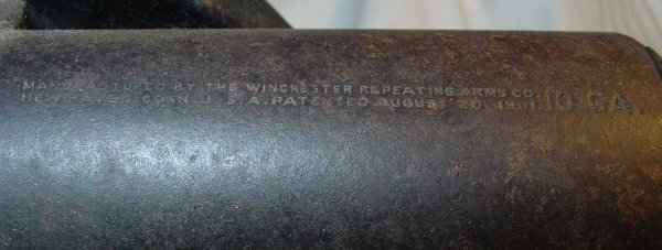 217: Winchester Repeating Arms Co. 10 ga. signal cannon - 5