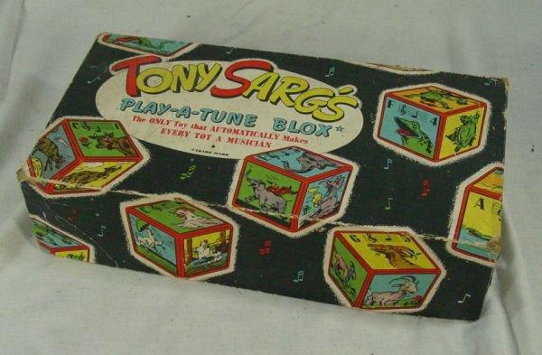315: Tony Sarg play-a-blox tune in original box