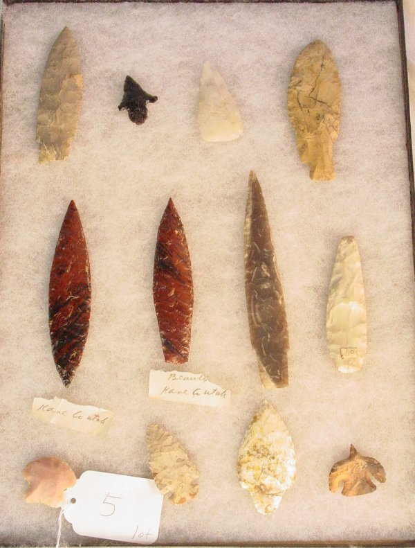 5: Early American Indian stone artifacts